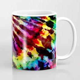 Rainbow Arch Tie Dye Coffee Mug