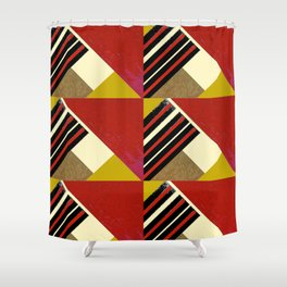 WORK 37 Shower Curtain