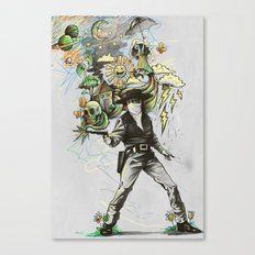 Quickdraw Canvas Print