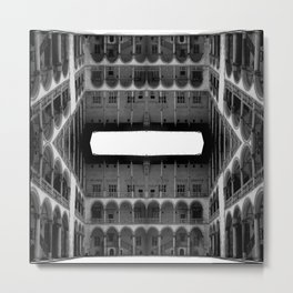 Escher Lives Here Metal Print
