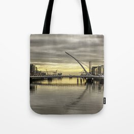 Morning on Dublin Docklands Tote Bag