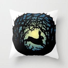 Briar Patch Throw Pillow