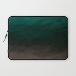 Inverted Fade Turquoise Laptop Sleeve
