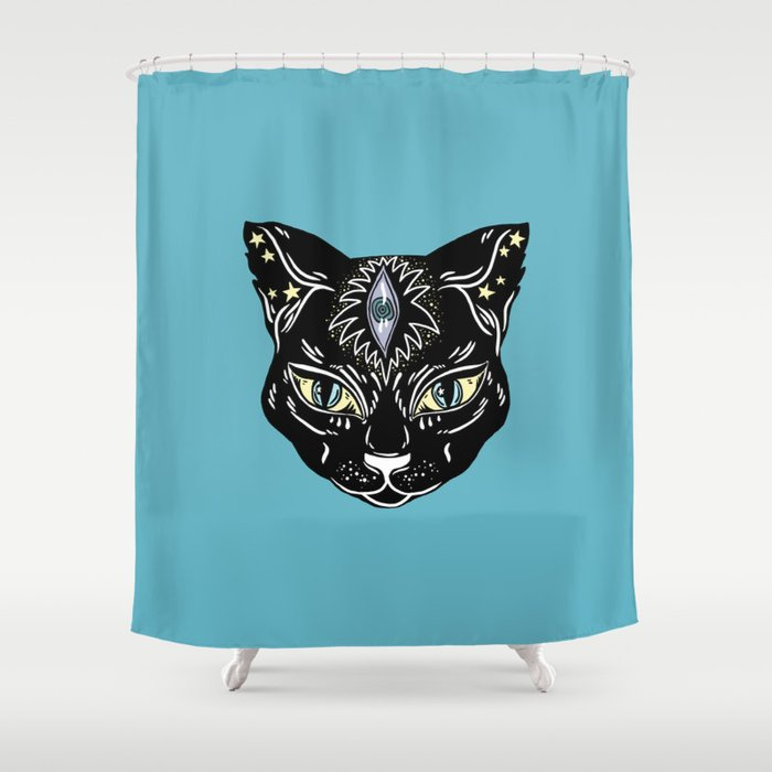 Stay Weird Shower Curtain By Roxanedewar