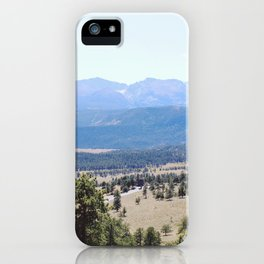 Deer Mountain iPhone Case
