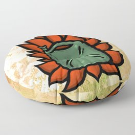 Huachicolero heart Floor Pillow