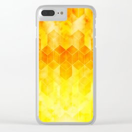 Smoke and Fire Clear iPhone Case