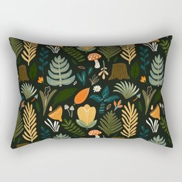 FOREST PATTERN Rectangular Pillow