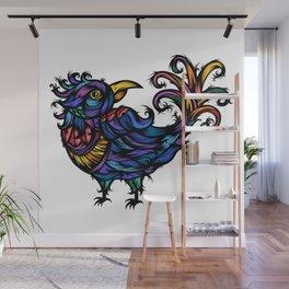 Froufrou Bird Wall Mural