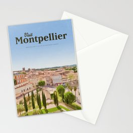 Visit Montpellier Stationery Cards