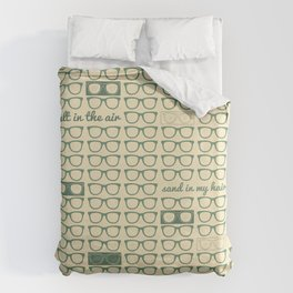 summer time Duvet Cover