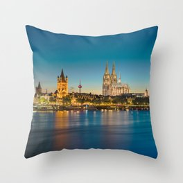 COLOGNE 21 Throw Pillow