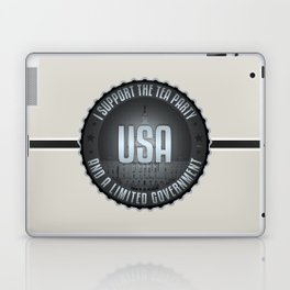 I Support The Tea Party Laptop & iPad Skin