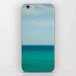 Sea & Sky abstract iPhone Skin