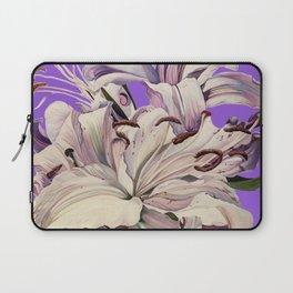 """Purple Lilies"" Laptop Sleeve"