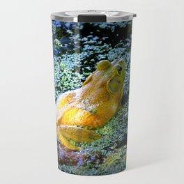 Bullfrog In The Swamp Travel Mug