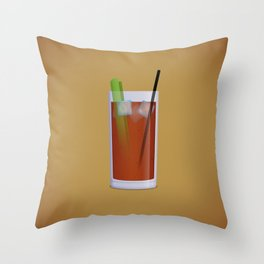 Bloody Mary Throw Pillow
