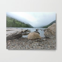 Acadia Maine Ocean Perspective Metal Print