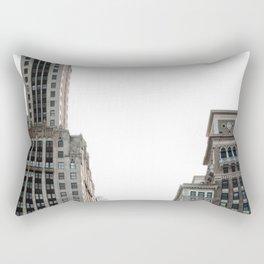 City Buildings Rectangular Pillow