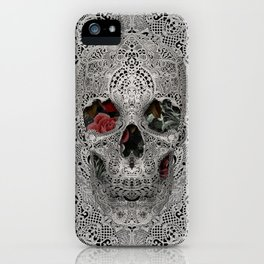Lace Skull 2 iPhone Case