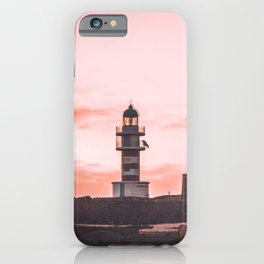 Morning vibes in the lighthouse iPhone Case