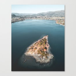 Lake Wanaka from Above Canvas Print
