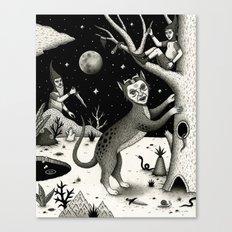 The Ambush Canvas Print
