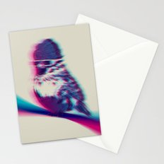 Bird Hair Day Stationery Cards