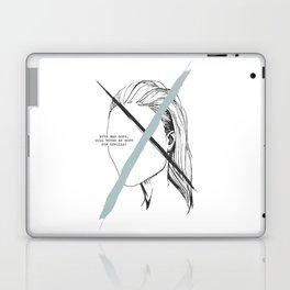 With Man Gone Laptop & iPad Skin