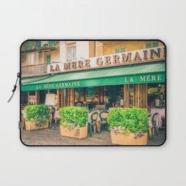 Seaside Cafe Laptop Sleeve