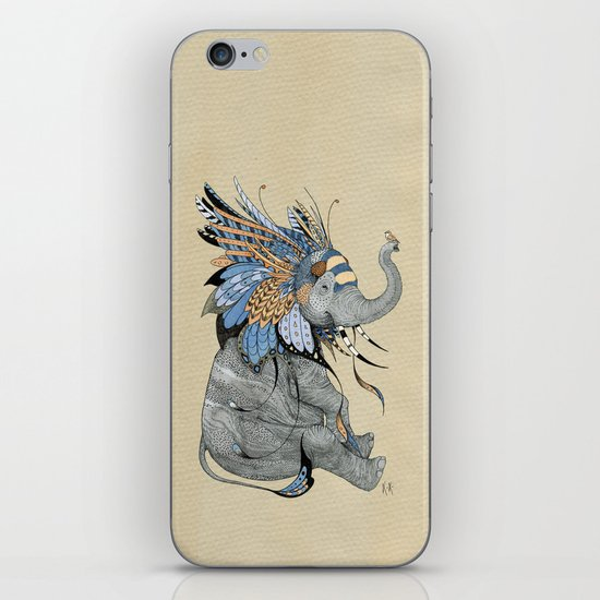 Hybrid Elephant iPhone & iPod Skin