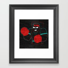 Boxing Gloves Framed Art Print