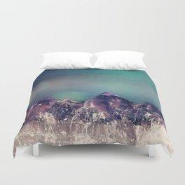 Mini Mountains Duvet Cover