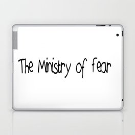 The Ministry of Fear Laptop & iPad Skin