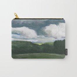 Impressionistic Kansas Landscape Carry-All Pouch