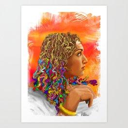 Nanners Art Print