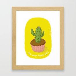 prickly seduction Framed Art Print