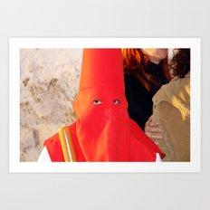 2007 - No KKK I (High Res) Art Print
