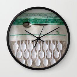 Consumption habits Wall Clock