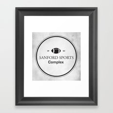 Sanford Sports Complex Framed Art Print