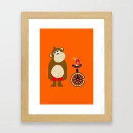 Mr. Monkey Framed Art Print