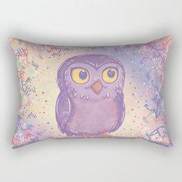 Enchanting Little Owl Rectangular Pillow
