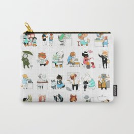 Dogs with Jobs (Everybody!) Carry-All Pouch