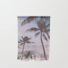 Pastel Palm Trees Wall Hanging