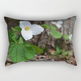Trilliums  Rectangular Pillow