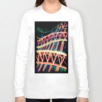 industrial Long Sleeve T-shirts featuring NEON INDUSTRIAL by JESSIE WEITZ
