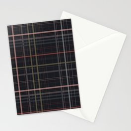 A very glommy plaid Stationery Cards
