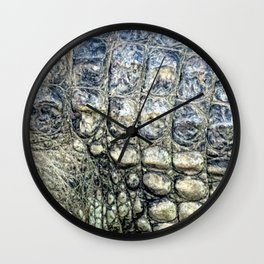 PREHISTORIC PATTERN Wall Clock