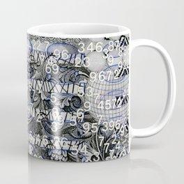 Post Digital Tendencies Emerge (P/D3 Glitch Collage Studies) Coffee Mug