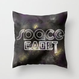 Space Cadet - Endless Galaxy Throw Pillow